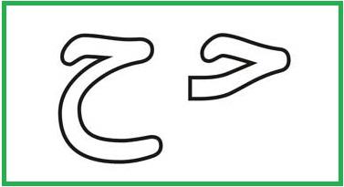 آموزش حروف الفبا ح