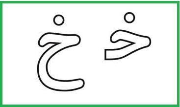 آموزش حروف الفبا فارسی خ