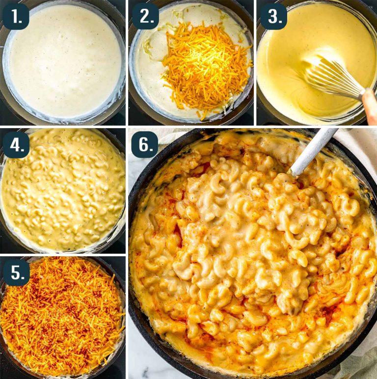 طرز تهیه پاستا پنیر(مک اند چیز)