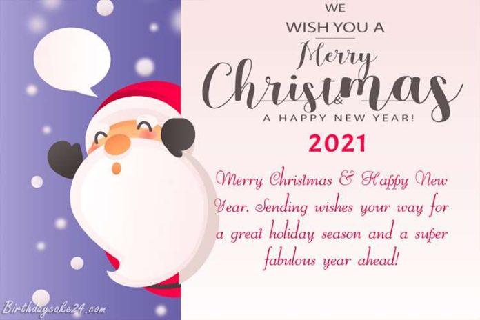 عکس نوشته تبریک کریسمس۲۰۲۱ به انگلیسی