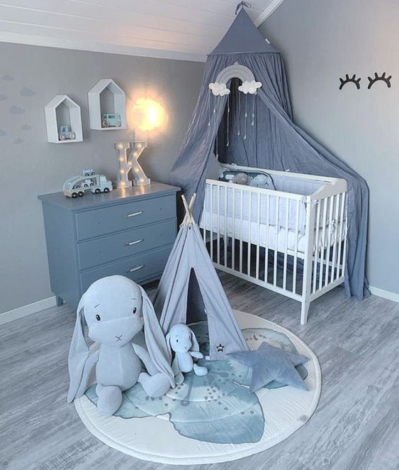 مدل سیسمونی نوزاد پسر برای تزئین اتاق