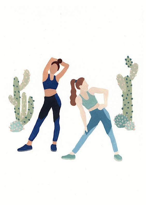 با یک دوست ورزش کنید