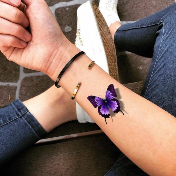 تاتو پروانه نماد چیست؟ + عکس هایی از طرح تاتو پروانه بسیار زیبا