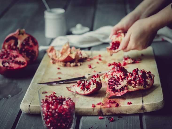 سوزاندن پوست انار در خانه