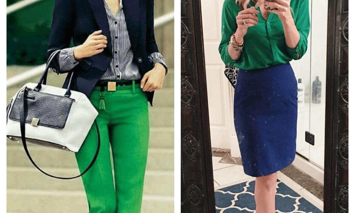 با رنگ سبز چه رنگی بپوشیم؟