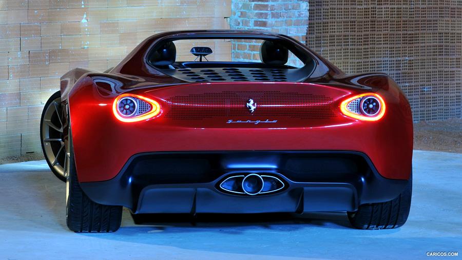 گرانترین ماشین دنیا FERRARI PININFARINA SERGIO