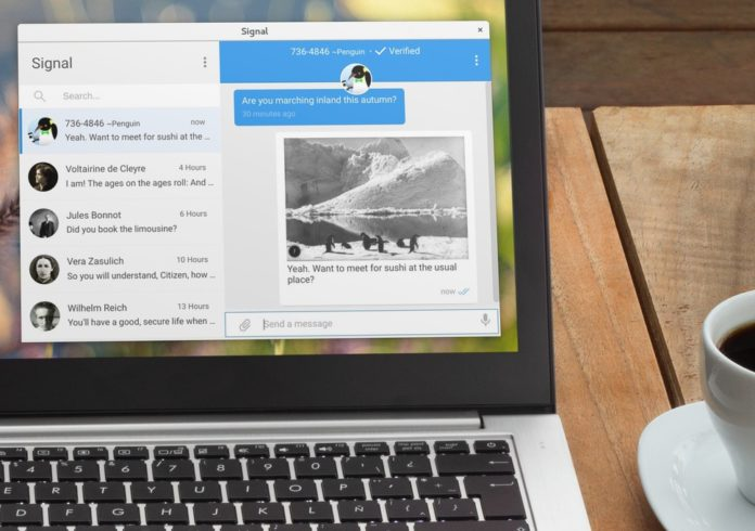 دانلود پیام رسان سیگنال برای کامپیوتر (ویندوز، لینوکس مک)