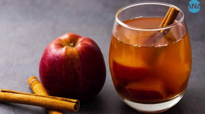 طرز تهیه دمنوش سیب و به