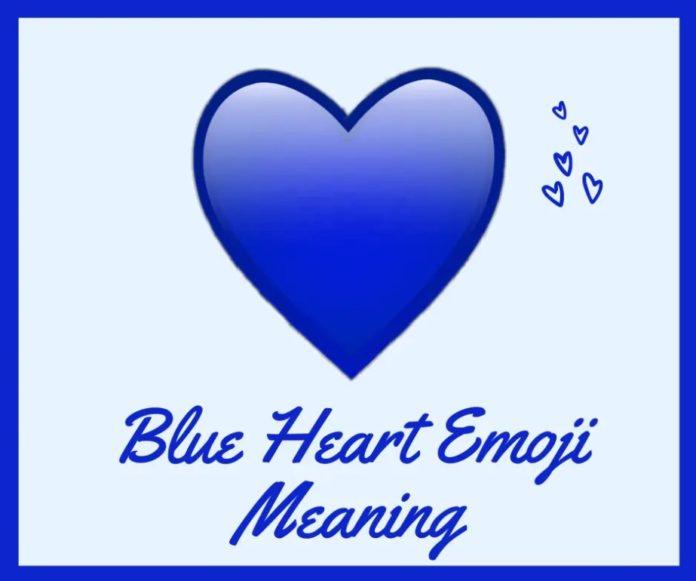 معنی قلب آبی در ایموجی ها چیست؟ 💙