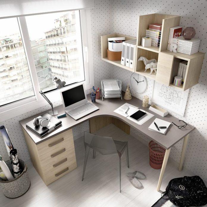 ایده برای میز تحریر و اتاق کار بسیار زیبا و کاربردی