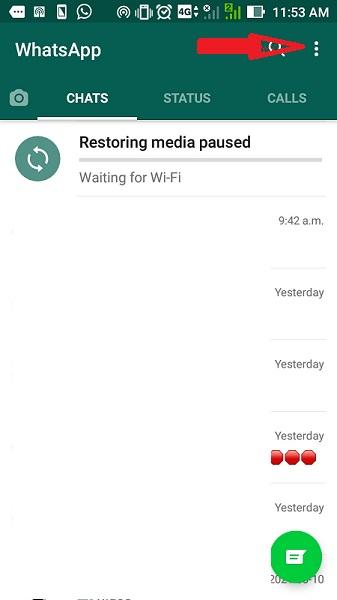 چگونه در واتساپ پیام بخوانیم ولی تیک نخورد