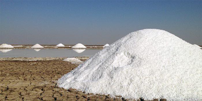 مراحل ساخت نمک: تبخیر طبیعی