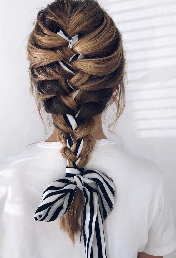 استفاده باندانا داخل مو