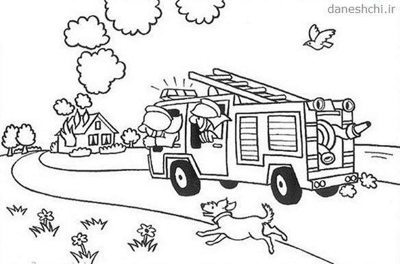 نقاشی در مورد یک شغل برای کودکان