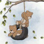 عکس زیبا برای پروفایل خرس کارتونی