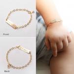 طرح دستبند بچگانه طلا دخترونه