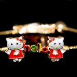 طرح دستبند بچگانه طلا