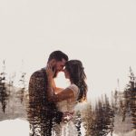پروفایل دختر و پسر عاشقانه بدون متن