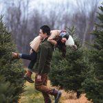 عکس پروفایل عاشقانه دختر و پسر در برف