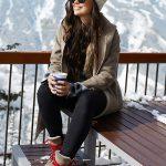 عکس دختر در برف برای پروفایل